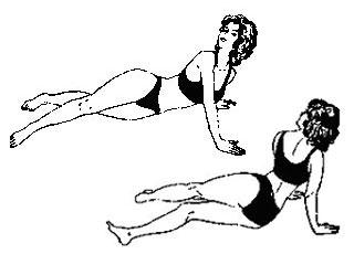 Знаменитые упражнения Поля Брегга